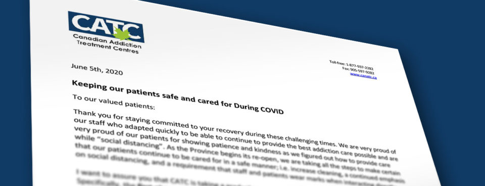 Keeping our patients safe and cared for during COVID